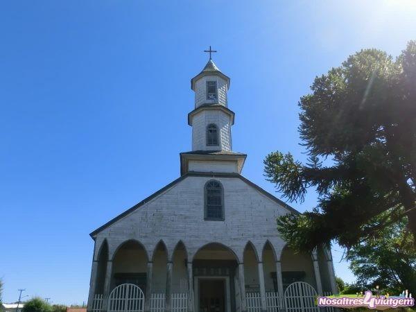 Chile Chiloé iglesia
