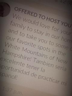 """Invitaciones """"couchsurfing"""" para alojarnos en nuestro viaje"""