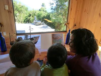 En casa de Cristian: Hostal Patagonia Nativa en Cochamó (Chile, 2013)
