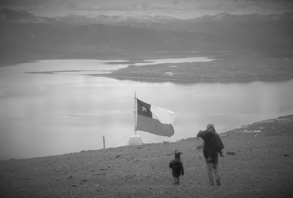 Puerto Williams, vista del Canal Beagle desde el Cerro Bandera (Chile, 2013)
