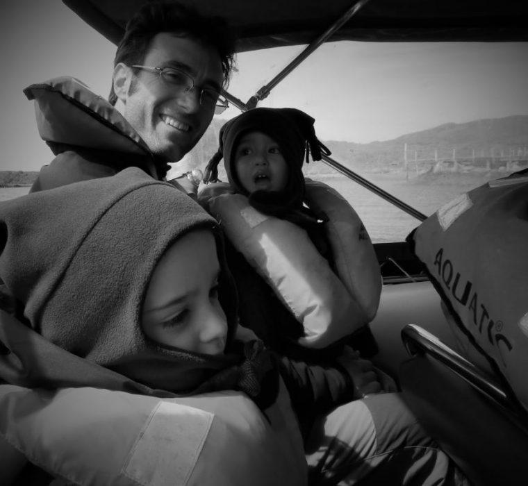 Navegando hacia Ushuaia, atravesando el Canal Beagle (Chile, 2013)