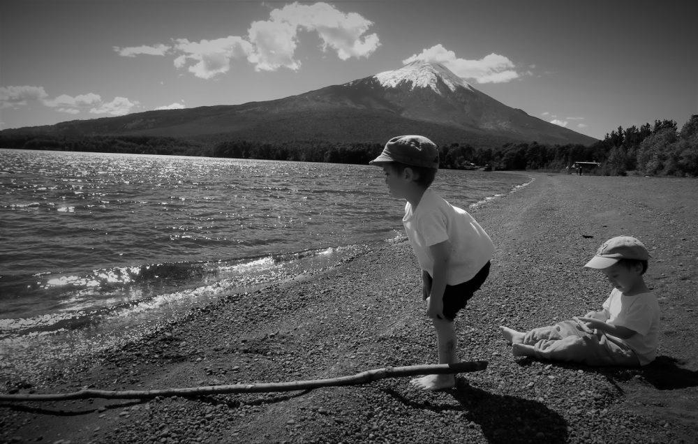 Lago Llanquihue y volcán Osorno en Ensenada (Chile, 2013)