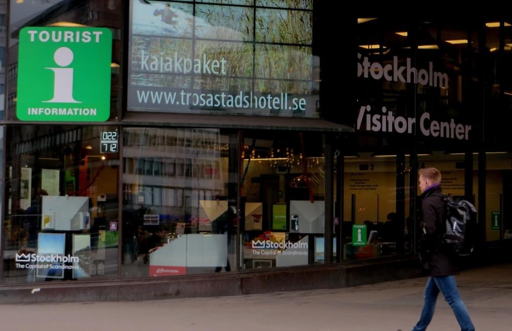 Centro de visitantes en la Kulturhuset