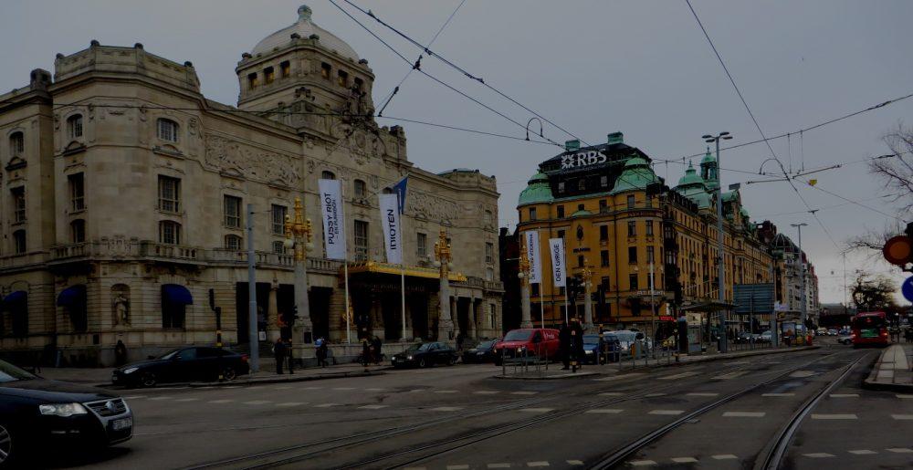 El escaso tráfico hace de Estocolmo una ciudad tranquila y paseable