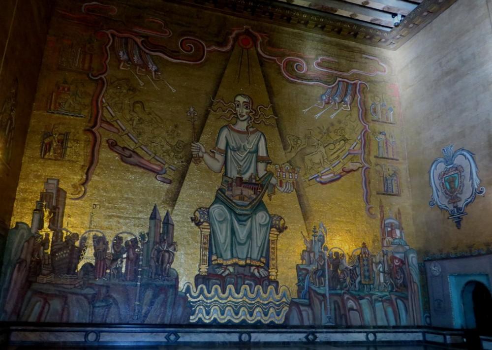 Mosaico de la Gyllene Salen