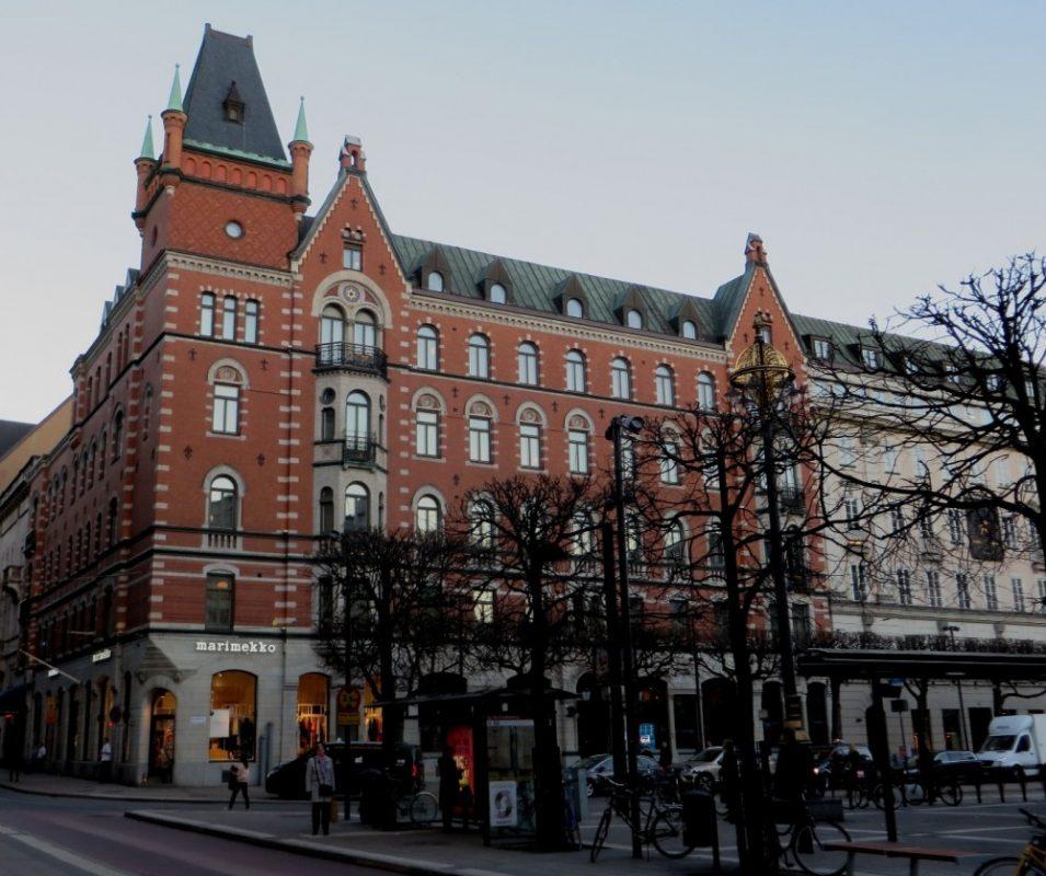 Edificio del Banco de Crédito Sueco donde tuvo lugar el secuestro de 1973