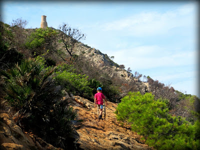 Vista de la Torre del Gerro desde el camino cuando vas de regreso