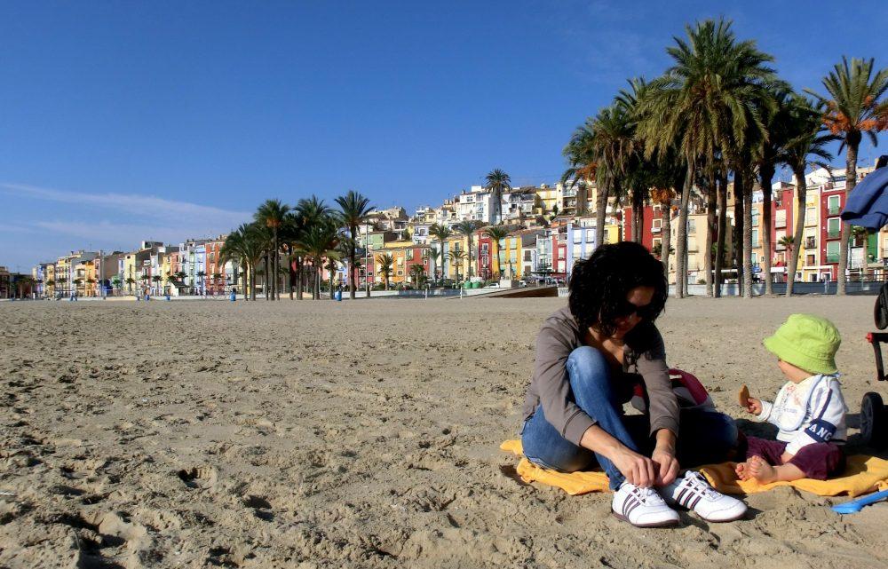 En la playa de la Vila-Joiosa