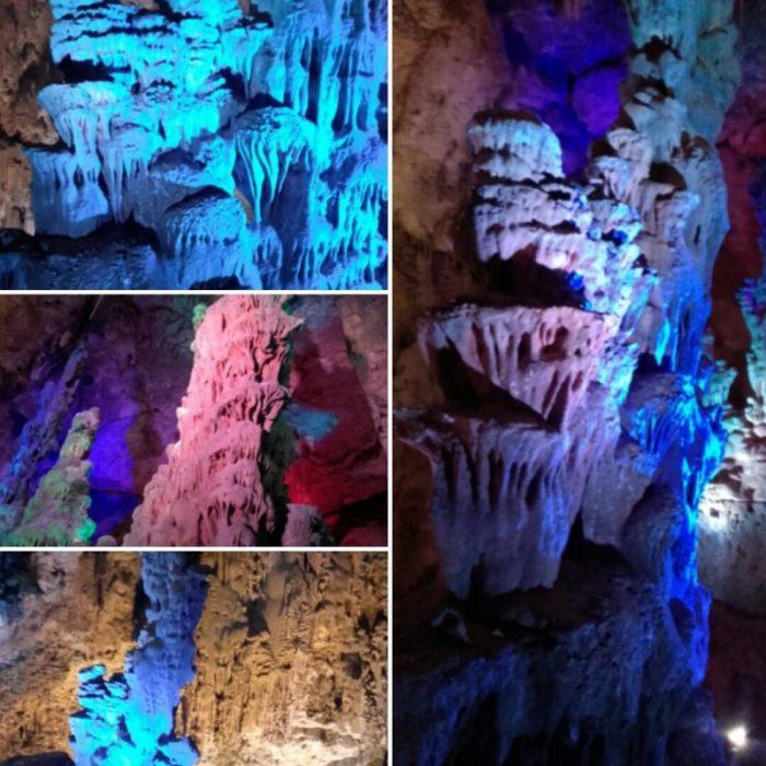 Interior de las Cuevas de Canelobre cerca de Busot