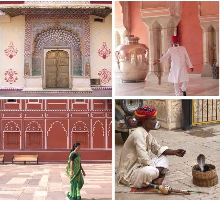 Visitando el City Palace de Jaipur (India, 2007)