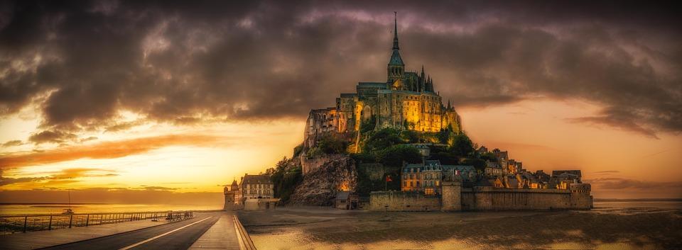 Mont Sant Michel en pixabay.com