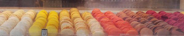 """Saboreando """"macarons"""" dn París."""