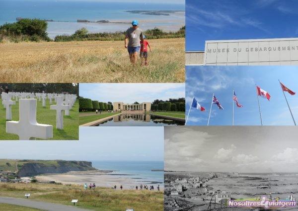 Algunes imatges de la costa de Normandia (França 2016)