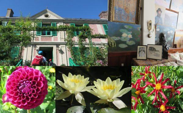 Detalles de los jardines y de la casa de Claude Monet (Giverny, Francia 2016)