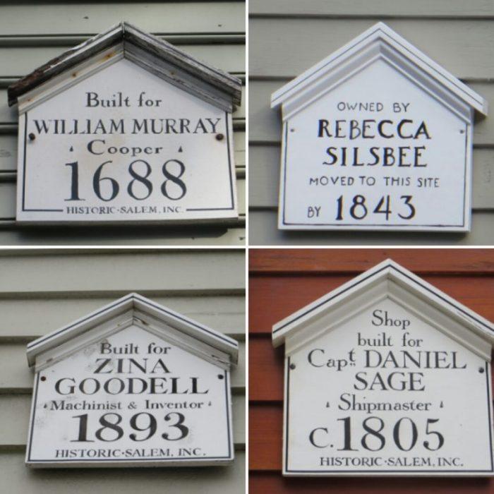 Las casas recuerdan a sus antiguos moradores (Salem, 2015)