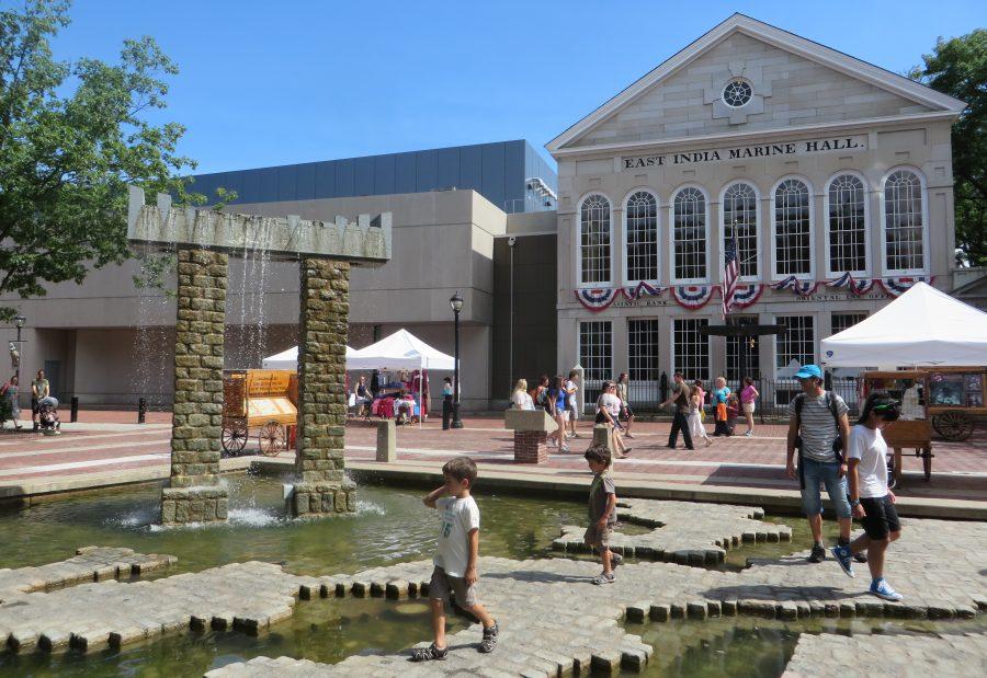 Los edificios antiguos nos recuerdan el antiguo pasado comercial (Salem, 2015)
