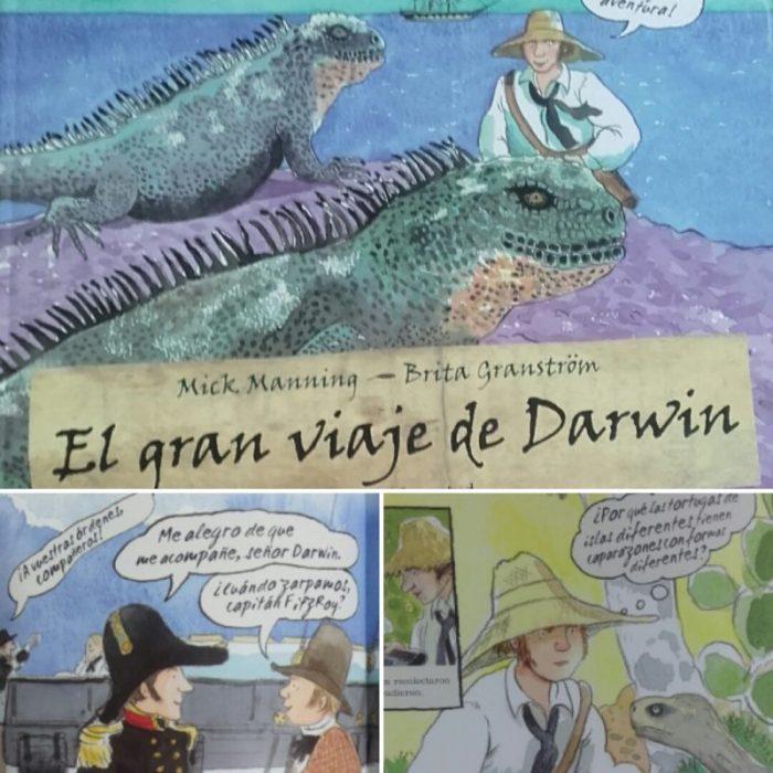 viaje darwin biblioteca