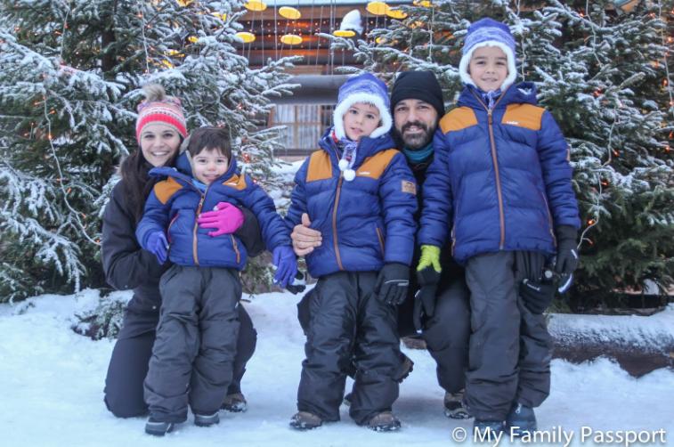 My family Passport disfrutaron en familia y nos inspiraron para lanzarnos en nuestro viaje a Laponia