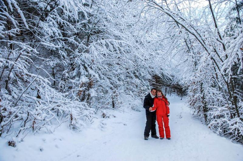Isaac y Paula nos trasladan a esa Laponia blnaca que estamos deseando conocer.