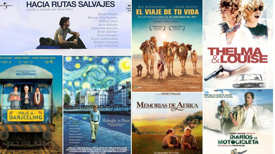15+1 PELÍCULAS PARA VIAJAR DESDE EL SOFÁ