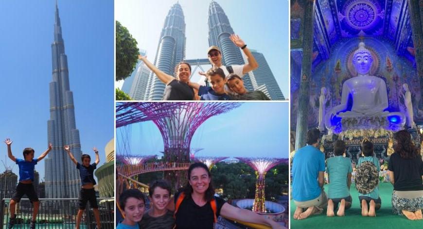 40 DÍAS EN ASIA EN FAMILIA: PRESUPUESTO Y RUTA