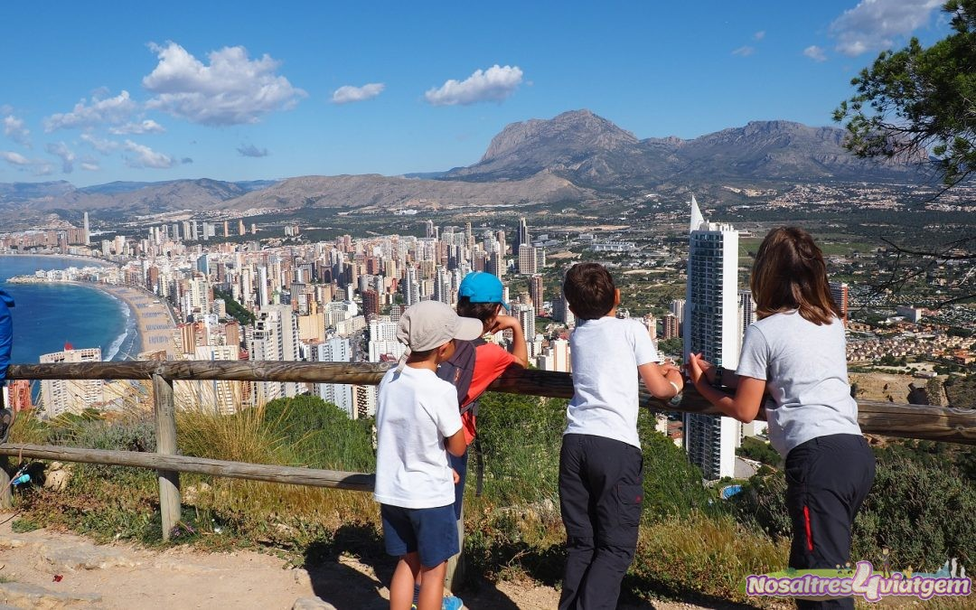 EXCURSIONES EN LA SERRA GELADA DE BENIDORM